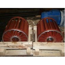 Колесо рабочее стальное насоса ВВН1-12