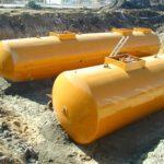 Подземные одностенные резервуары для СУГ