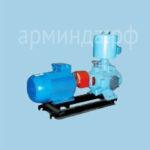 Водокольцевой насос ВВН 1-3 на раме с электродвигателем 15 кВт взрывозащищенном исполнение