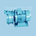 Водокольцевой насос ВВН1-1,5  двигатель во взрывозащищенном исполнение