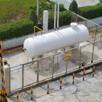 Наземные одностенные резервуары для СУГ